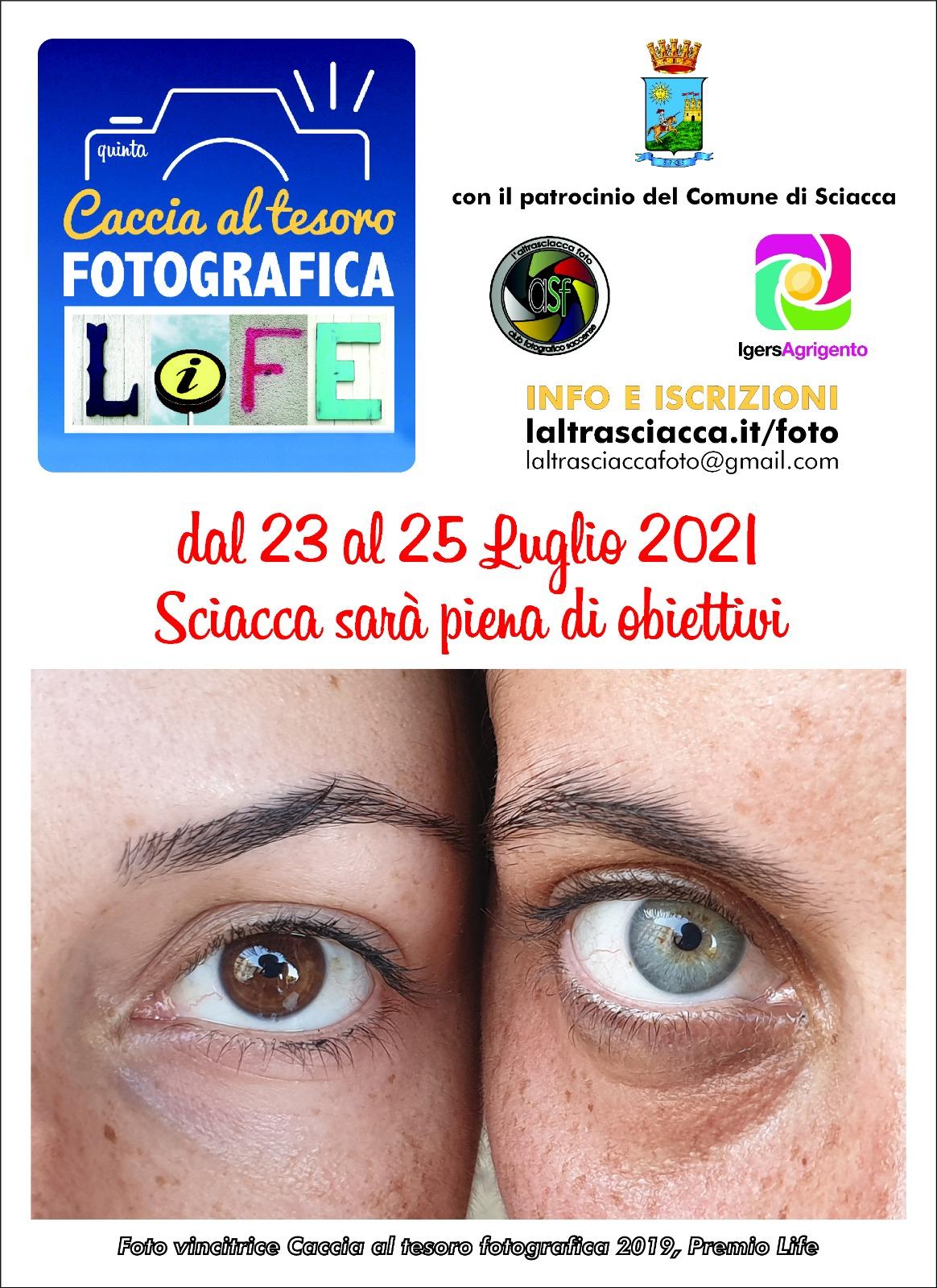 5 ^ CACCIA AL TESORO FOTOGRAFICA LIFE MEMORIAL FABRIZIO PIRO