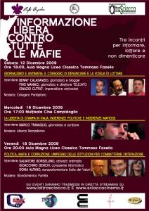 INFORMAZIONE LIBERA CONTRO TUTTE LE MAFIE