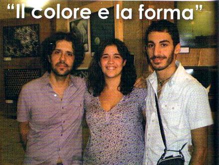 Francesco Ferrara, Ambra Favetta e Antonio Zerbo (foto tratta da Not Magazine)
