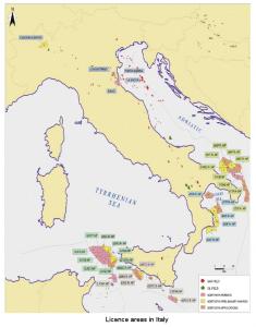 La petrolizzazione dell'Adriatico meridionale, del mar Ionio da parte della Northern Petroleum