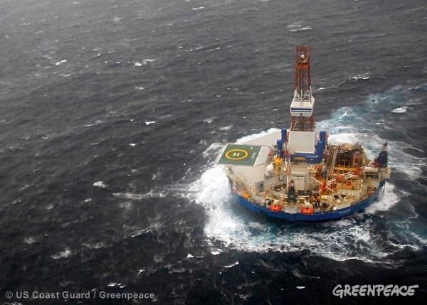 Stop shell alle trivellazioni in alaska per il 2013 for Piani di costruzione della piattaforma gratuiti