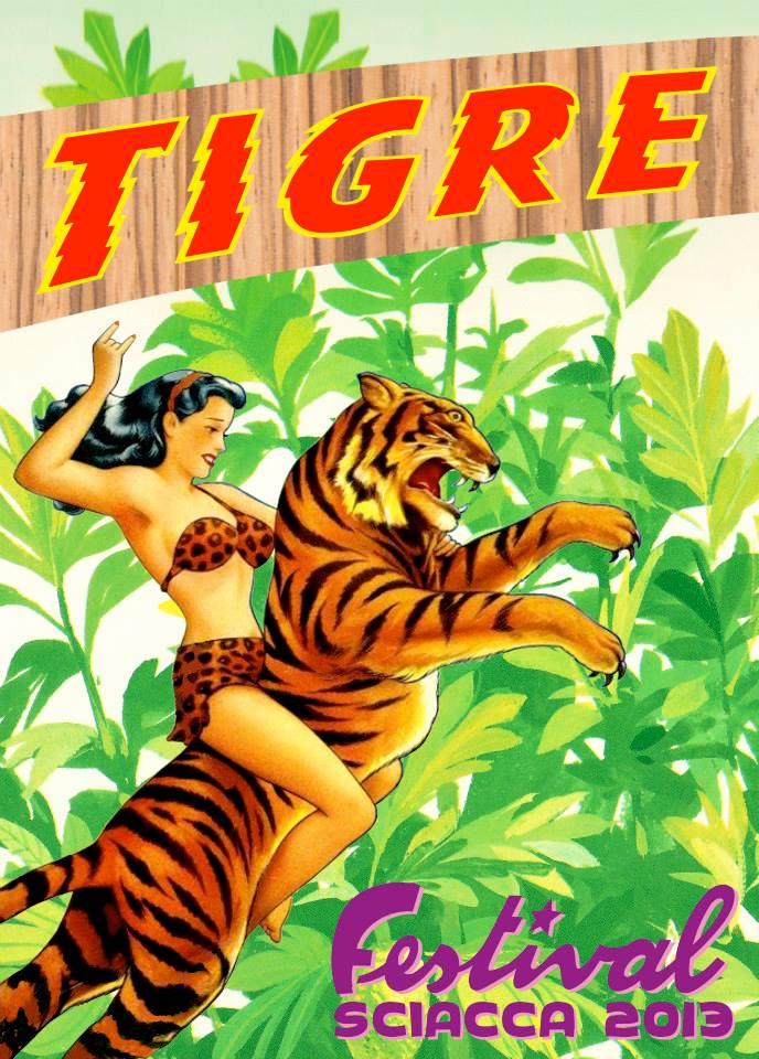 Mostra collettiva tigre 2013 dal 10 al 25 agosto l for Arte arredi sciacca