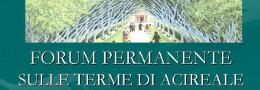 Forum permanente sulle Terme di Acireale