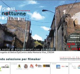 Banner Visioni Notturne Sostenibili terza edizione