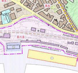 estratto mappa ex stazione