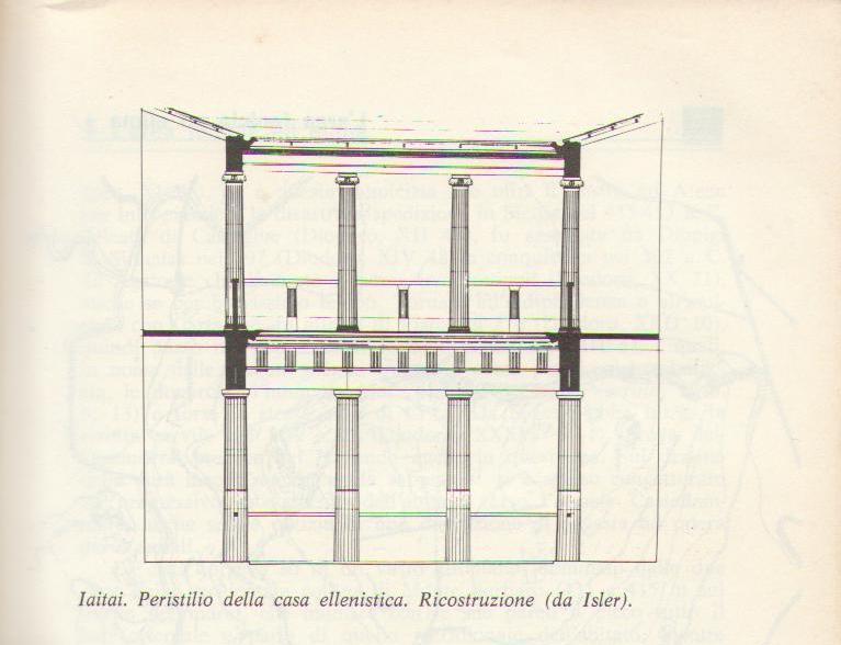 Area archeologica monte jato san cipirello l for A forma di piani di casa con piscina